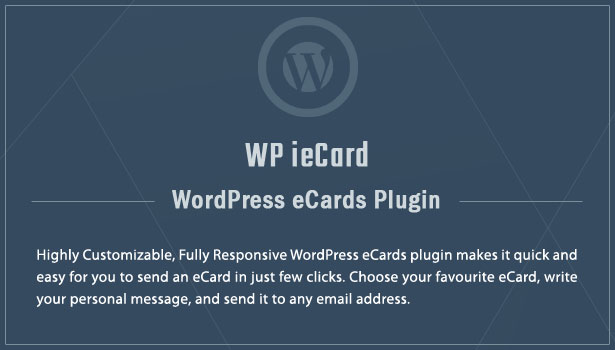 Banner WP ieCard – WordPress eCards Plugin Nulled Free Download wp iecard banner